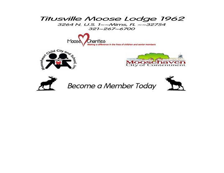 Moose Lodge - Mims   Space Coast Event Calendar