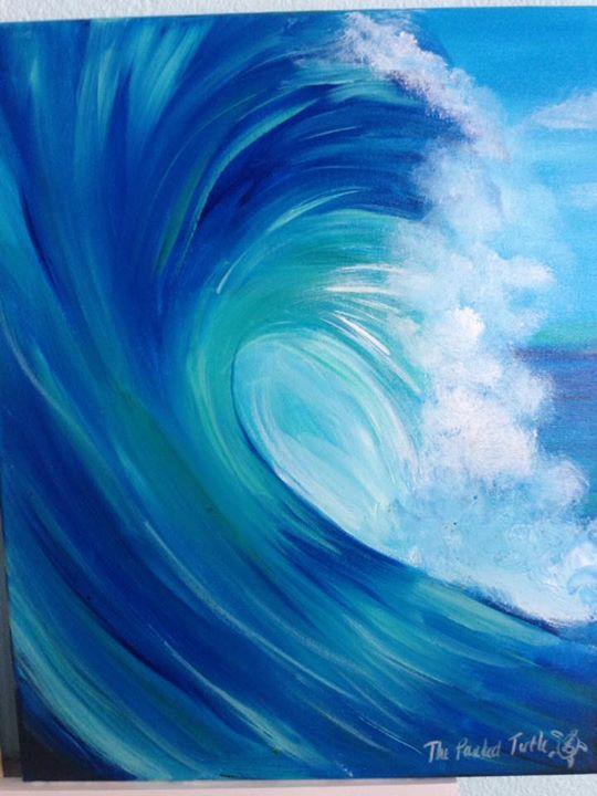 Paint Night Wave Space Coast Event Calendar