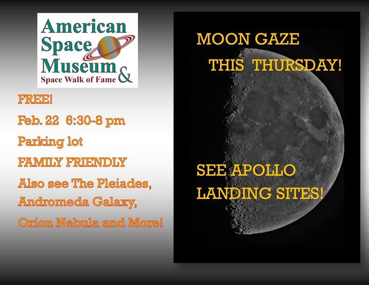 Moon Gaze Space Coast Event Calendar