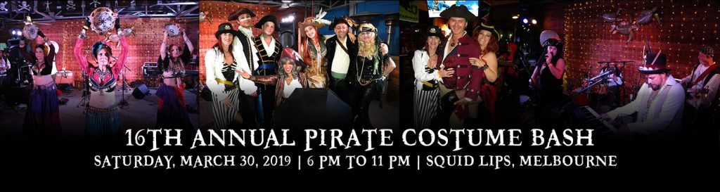 16th Annual MadHatterPromotions com LLC PIRATE COSTUME BASH | Space