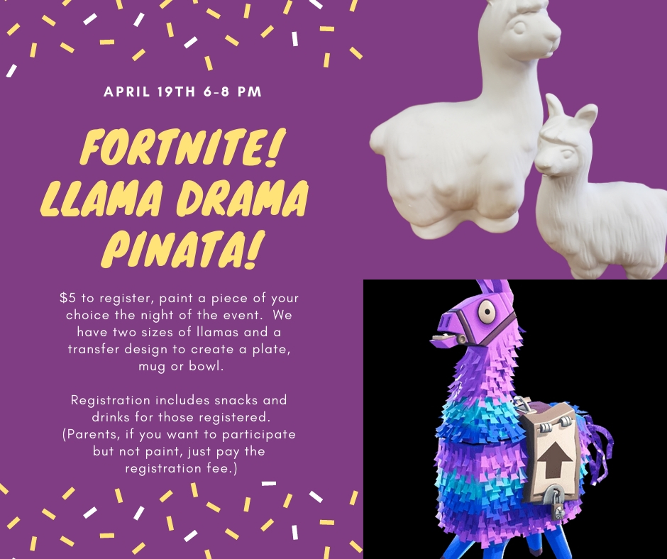ClayZ - Fortnite Llama Pinata Family Night | Space Coast