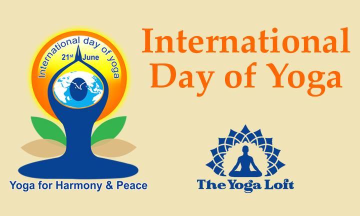 International Day of Yoga at The Titusville Yoga Loft